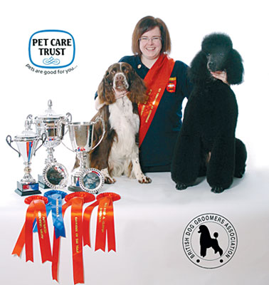 Highest standards ever at british dog grooming championships for A cut above grooming salon